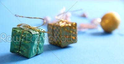 stock photo:  celebration theme with christmas gifts-Raw Stock Photo ID: 27963