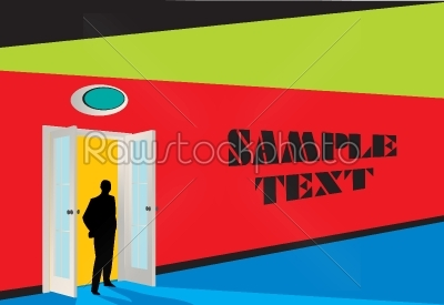stock vector: abstract urban background-Raw Stock Photo ID: 24038