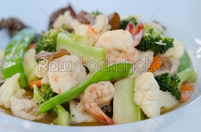 stock photo: asian cuisne-Raw Stock Photo ID: 21211