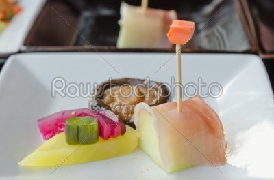 stock photo: asian dish-Raw Stock Photo ID: 19008