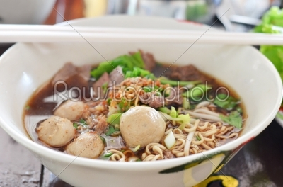 stock photo: asian noodle-Raw Stock Photo ID: 20853