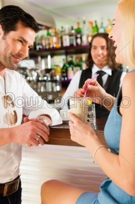 stock photo: attractive couple in cafe or coffeeshop-Raw Stock Photo ID: 44434