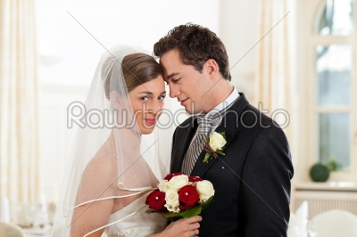 stock photo: bride and groom at wedding day-Raw Stock Photo ID: 41636