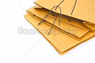 stock photo: brown paper bag-Raw Stock Photo ID: 32601