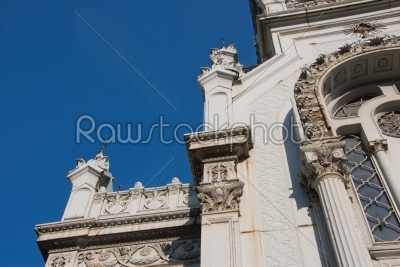stock photo: bulgarian church st stephen in istanbul  main entrance details-Raw Stock Photo ID: 11668