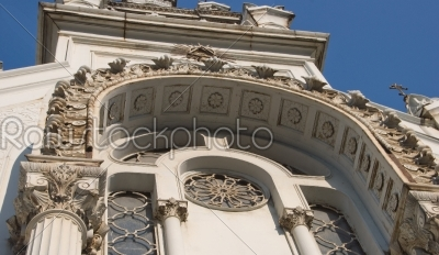 stock photo: bulgarian church st stephen in istanbul  side details-Raw Stock Photo ID: 11669