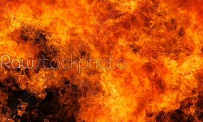 stock photo: burning flame red-Raw Stock Photo ID: 26082