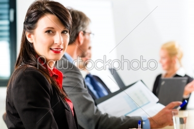 stock photo: business  businesspeople have team meeting-Raw Stock Photo ID: 46965