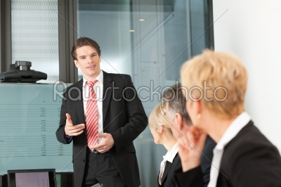 stock photo: business  presentation within a team-Raw Stock Photo ID: 42590