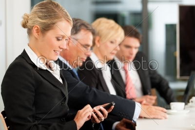 stock photo: business  team in office checking mails-Raw Stock Photo ID: 42761