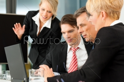 stock photo: business  team meeting in an office-Raw Stock Photo ID: 42599