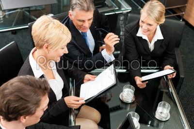 stock photo: business  team meeting in an office-Raw Stock Photo ID: 42760