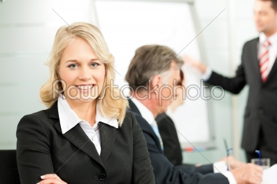 stock photo: business people  presentation within a team-Raw Stock Photo ID: 41759