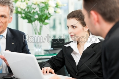 stock photo: business people  team meeting in an office-Raw Stock Photo ID: 41814
