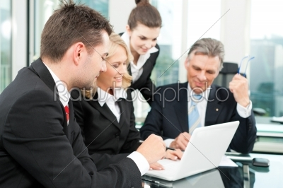 stock photo: business people  team meeting in an office-Raw Stock Photo ID: 41847