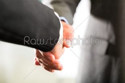 stock photo: business people doing handshake-Raw Stock Photo ID: 47001