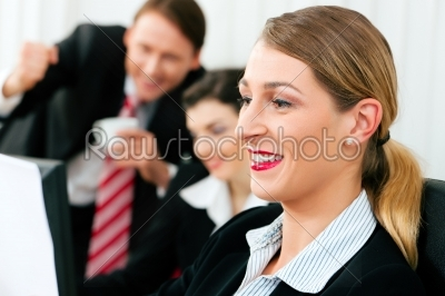 stock photo: business team working in the office-Raw Stock Photo ID: 39239