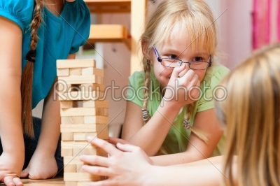 stock photo: children playing at home-Raw Stock Photo ID: 41416