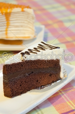 stock photo: chocolate cake-Raw Stock Photo ID: 25650