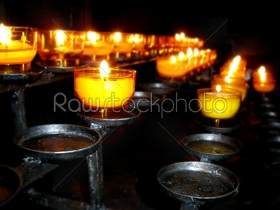stock photo: church candles-Raw Stock Photo ID: 33713
