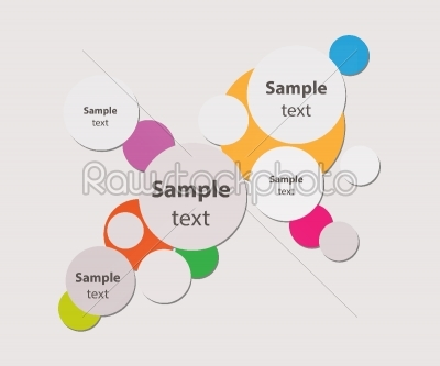 stock vector: circle abstract background-Raw Stock Photo ID: 27695