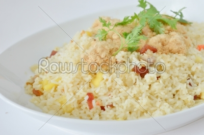 stock photo: close up fried rice-Raw Stock Photo ID: 21873