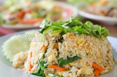 stock photo: close up fried rice-Raw Stock Photo ID: 25989