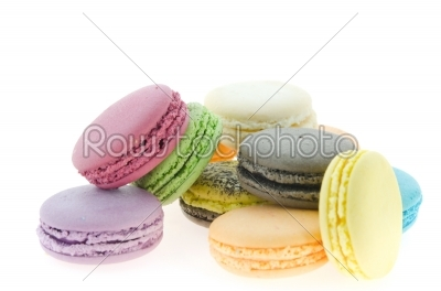 stock photo: colorful  french macaroons-Raw Stock Photo ID: 22448