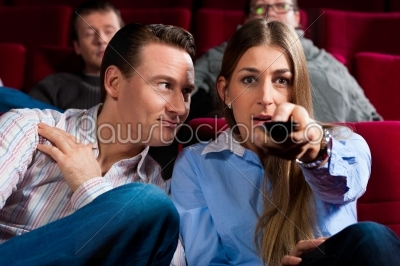 stock photo: couple and other people in cinema-Raw Stock Photo ID: 41329