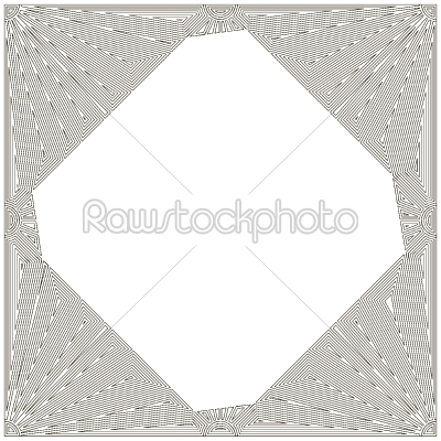 stock vector: decorative art nouveau frame-Raw Stock Photo ID: 34064