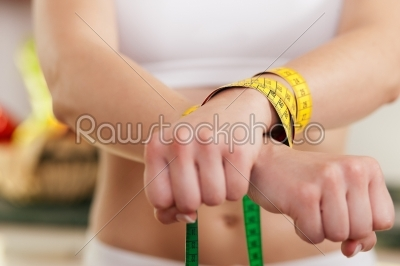 stock photo: dieting gone wild  woman handcuffed-Raw Stock Photo ID: 39366