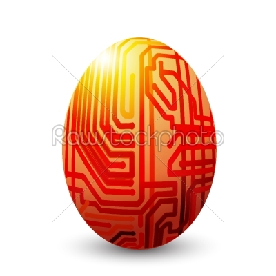 stock vector: egg connected-Raw Stock Photo ID: 24388
