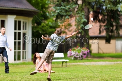 stock photo: family is playing in summer -Raw Stock Photo ID: 42452