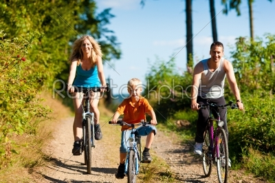 stock photo: family riding bicycles for sport-Raw Stock Photo ID: 39864