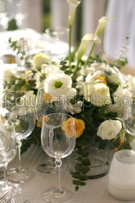stock photo: fancy table set for a wedding-Raw Stock Photo ID: 28000