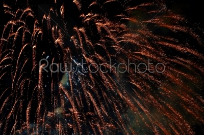stock photo: fantastic colorful fireworks with black copyspace-Raw Stock Photo ID: 28275