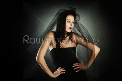 stock photo: fashion model studio shooting-Raw Stock Photo ID: 17753