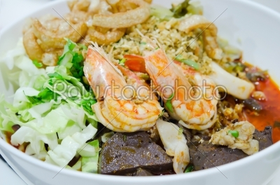 stock photo: favorite food north of thailand-Raw Stock Photo ID: 21707