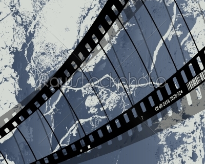 stock vector: film reel grunge-Raw Stock Photo ID: 24425