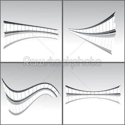 stock vector: film strips-Raw Stock Photo ID: 24426