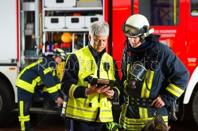 stock photo: fire brigade deployment planning -Raw Stock Photo ID: 46768