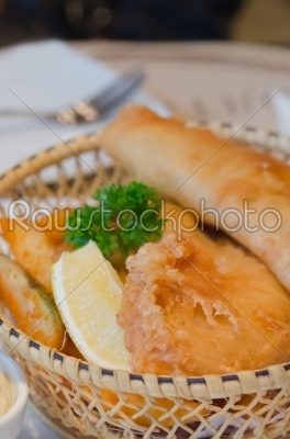 stock photo: fish and chips-Raw Stock Photo ID: 26182