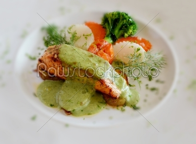stock photo: fish steak-Raw Stock Photo ID: 19115