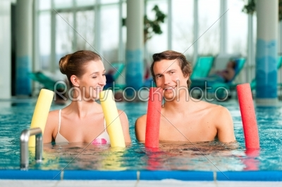 stock photo: fitness  sports and gymnastics under water in swimming pool or spa-Raw Stock Photo ID: 43778