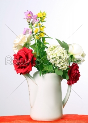 stock photo: flowers in a jug-Raw Stock Photo ID: 28451