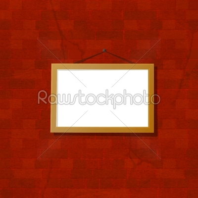 stock vector: frame on the wall-Raw Stock Photo ID: 24467
