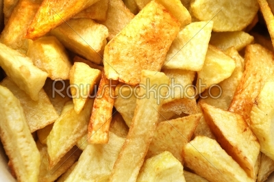 stock photo: french fried potatoes-Raw Stock Photo ID: 10493
