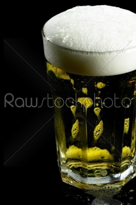 stock photo: glass of beer-Raw Stock Photo ID: 36778