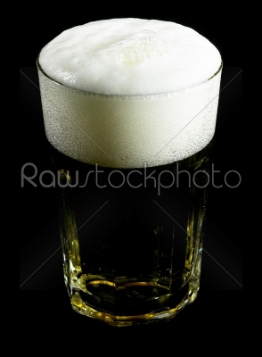 stock photo: glass of beer-Raw Stock Photo ID: 36779