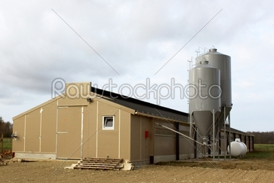 stock photo: grain silos-Raw Stock Photo ID: 20801